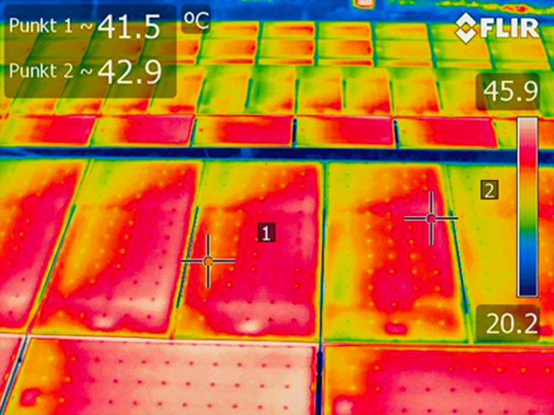 Thermographische Inspektion