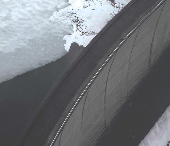 Drohnenflug beim Snowbombing